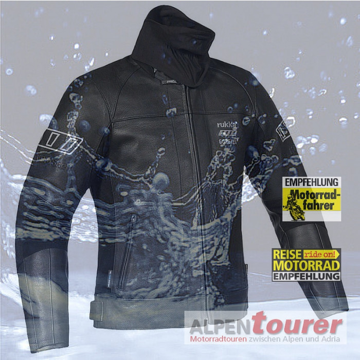 bikeroutfit rukka merlin jacke gore tex wasserdicht. Black Bedroom Furniture Sets. Home Design Ideas