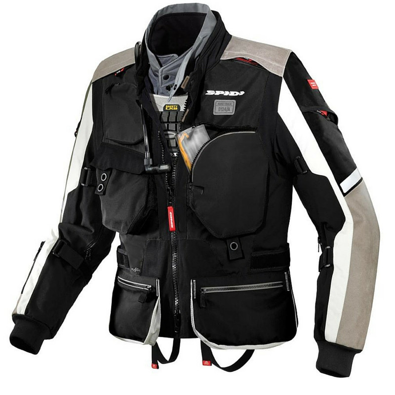 bikeroutfit spidi enduro touring protektor motorrad bike. Black Bedroom Furniture Sets. Home Design Ideas