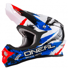 O´Neal Serie 3 SHOCKER black/blue/red