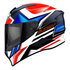 Suomy Speedstar Asymmetric blue/red
