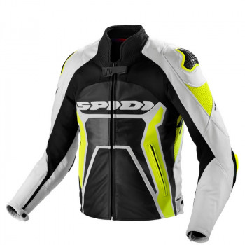 Spidi Warrior  2 Jkt  neon gelb