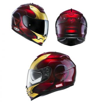 HJC IS 17 Iron Man