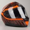 Schwarz-Orange